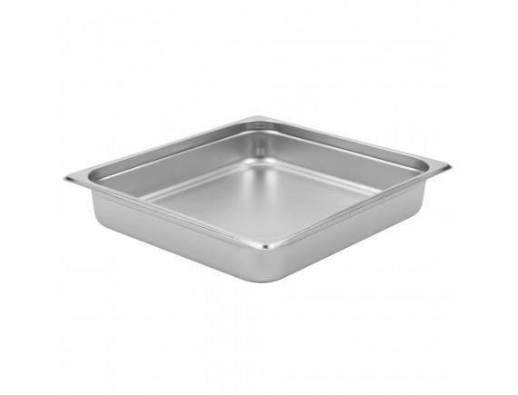 Гастроемкость, 2/3-40 (35х32х4см) нерж.сталь, Dali. (115040)