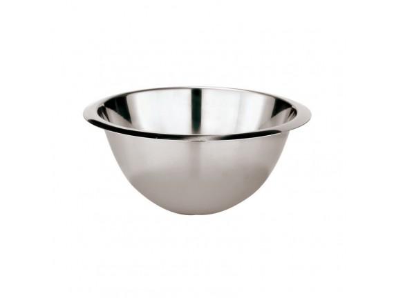 Миска полусфера, 30 см, 7.2 л, нержавеющая сталь, Paderno. (11957-30)