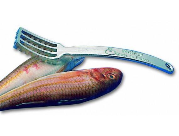 Рыбочистка, 22см, алюминий, Matfer Bourgeat. (121100)