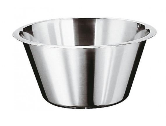 Миска кухонная коническая, 38х13.5см, 11л, нержавеющая сталь, Paderno. (12582-38)