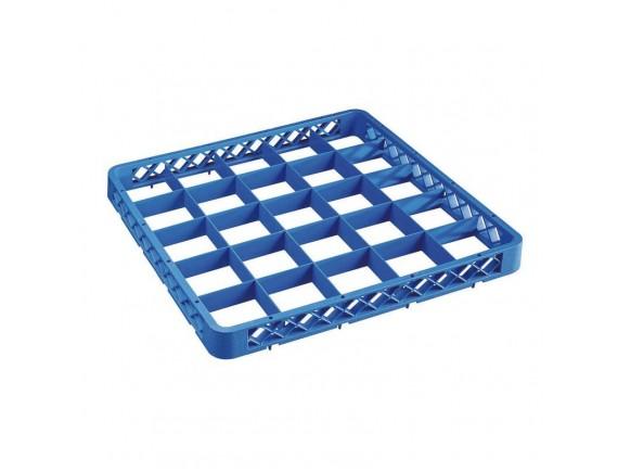 Надставка для кассеты для посудомоечной машины, 25 секций, 50х50х4.5 см пластик, Paderno. (14003-25)