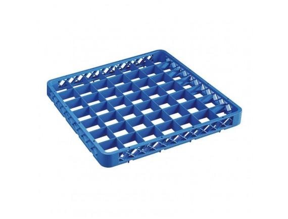 Надставка для кассеты для посудомоечной машины, 49 секций, 50х50х4.5 см пластик, Paderno. (14003-49)