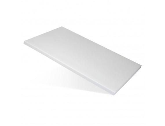 Доска поварская, белая 60X40X1,8 см, полипропилен, Welshine. (1500)