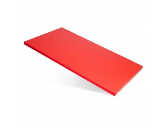 Доска поварская, полипропилен красная (60X40X1,5CM) цветная, Welshine. (1501)