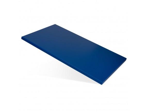 Доска поварская, полипропилен синяя (60X40X1,5CM) цветная, Welshine. (1502)