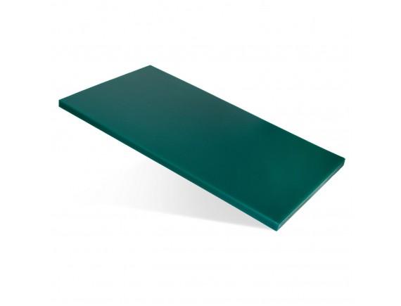 Доска поварская, пластик зеленая (60X40X1,5СM) цветная, Welshine. (1503)