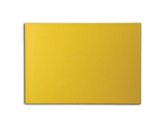 Доска разделочная кухонная, 40х30х1,2 см, желтая полипропилен, Dali. (1504/02)