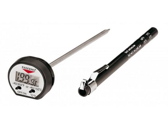 Термометр электронный (игла), профессиональный, кухонный, -50+150 С, Paderno. (19701-00)