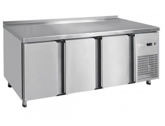 Стол холодильный СХС-60-02, 3-х дверный, среднетемпературный, t (-2+8°С), 2000x600x860 мм., Чувашторгтехника (210000001506)