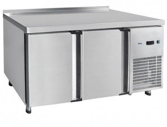 Стол холодильный СХС-60-01, 2-х дверный, среднетемпературный, t (-2+8°С), 1500x600x860 мм., Чувашторгтехника (210000001666)
