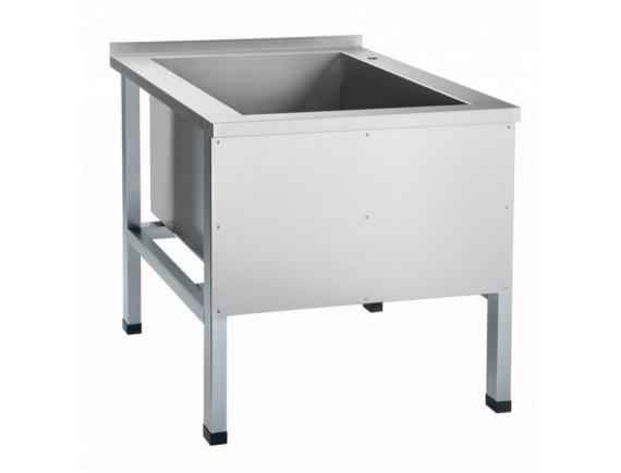 Ванна 1-о секц. ВМП-7-1 котломойка (мойка 604x600x500мм) каркас крашен., Чувашторгтехника (210000801677)