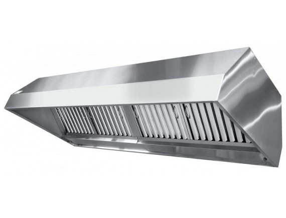 Зонт вентиляционный ЗВЭ-900-4-О островн. (2250x900x500 мм.) (устанавливается над 900 серией), Чувашторгтехника (210000802403)