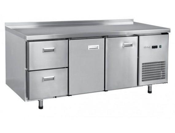 Стол холодильный СХС-70-02 2 двери, 2 выкатных ящ.GN 1/1, среднетемп. t (-2+8°С),1925х700х860 мм. , Чувашторгтехника (210000802418)