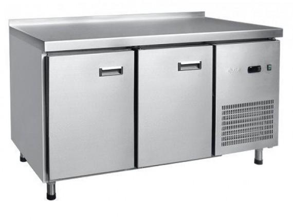 Стол холодильный СХС-70-011, 2 двери, 2 полки под GN 1/1, среднетемп. t (-2+8°С), 1430х700х860, Чувашторгтехника (210000808004)