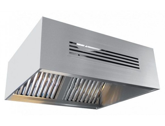 Зонт приточно-вытяжной ЗПВ-1100-2-О (1250x1100x450 мм.) (устанавливается над 900 серией), Чувашторгтехника (210001801170)