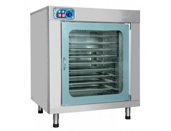 Шкаф расстоечный тепловой ШРТ 10-1/1М (10 уровней GN 1/1,стекл. дверь, вся нерж, 840x768x1044), Чувашторгтехника (210001804063)