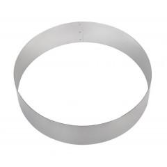 Кольцо для торта кондитерское, гарнира 28х6 см нержавеющая сталь, Хорс. (280602)