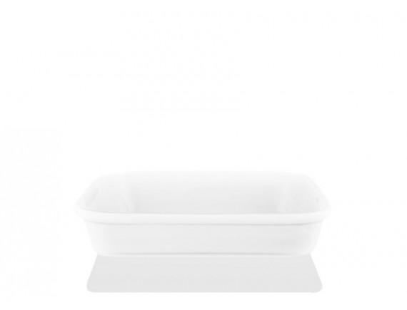 Блюдо прямоугольное ф.Практик 160 х100 х24, Башкирский фарфор. (40316024)