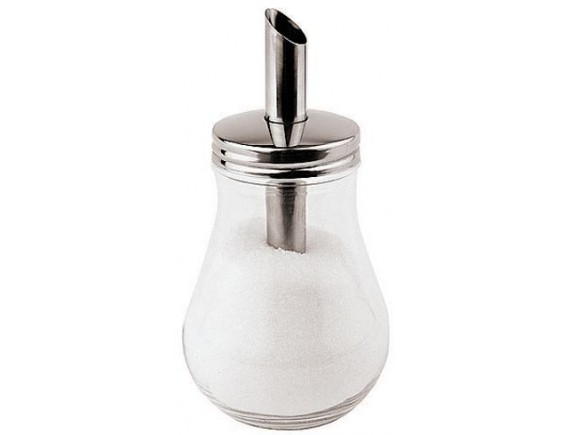 Дозатор для сахара, D-8.4мм, H-15.5см, 0.15л, нержавеющая сталь, Paderno. (41525-01)