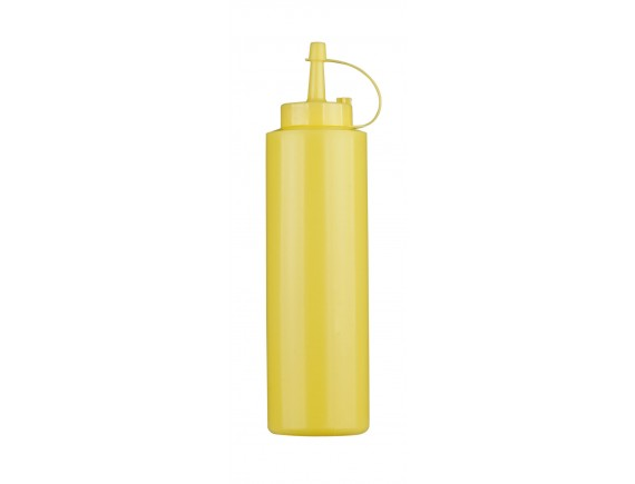 Соусник пластиковый, 0.36 л, желтый, Paderno. (41526-G2)