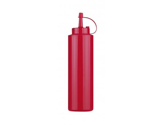 Соусник пластиковый, 0.36 л, красный, Paderno. (41526-R2)