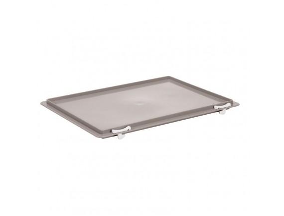 Крышка для контейнера, 40х30 см пластик серая, Paderno. (41763-30)