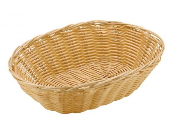 Корзинка для хлеба, 18х13х6,5 см, полиротанг, Paderno. (42945-18)