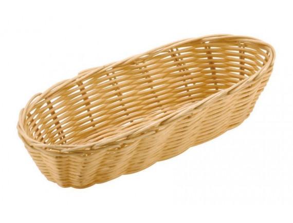 Корзинка для хлеба, 23х10х6 см, полиротанг, Paderno. (42946-23)