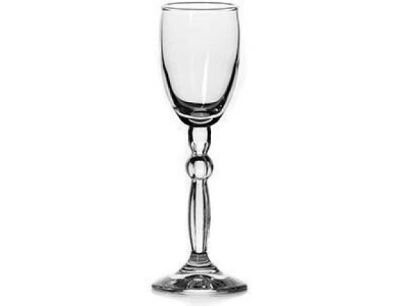 Рюмка «Стэп», стекло, 63мл, H=15.5см, прозрачный, Pasabahce (440217)