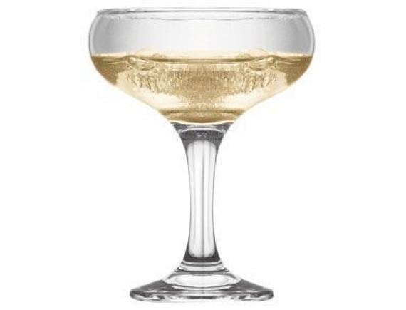 Шампан-блюдце «Бистро», стекло, 260мл, D=95/63, H=132мм, прозрачный, Pasabahce. (44136)