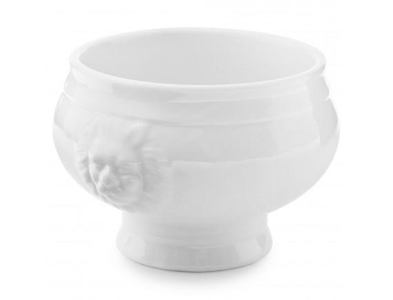 Супница фарфоровая, с львиными головами, 0.5л, Paderno. (44379-05)