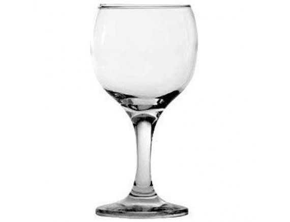 Бокал для вина «Бистро», стекло, 220мл, D=65/65, H=147мм, прозрачный, Pasabahce. (44412)