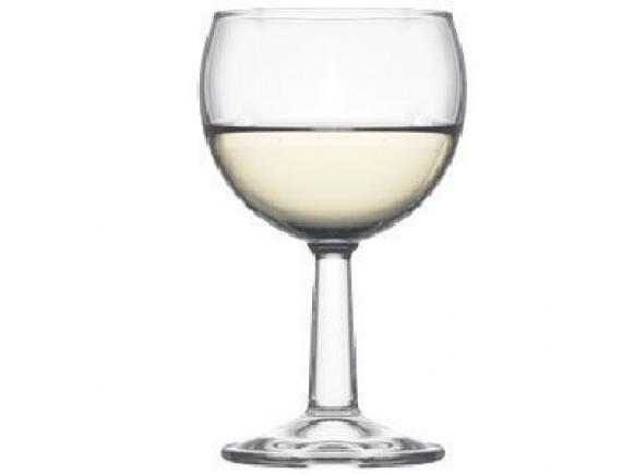 Бокал для вина «Банкет», стекло, 160мл, D=68/59, H=122мм, прозрачный, Pasabahce. (44425)
