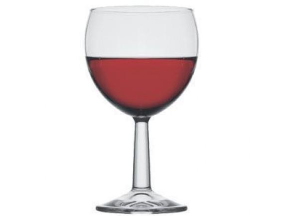 Бокал для вина «Банкет», стекло, 195мл, D=68/59, H=128мм, прозрачный, Pasabahce. (44435)