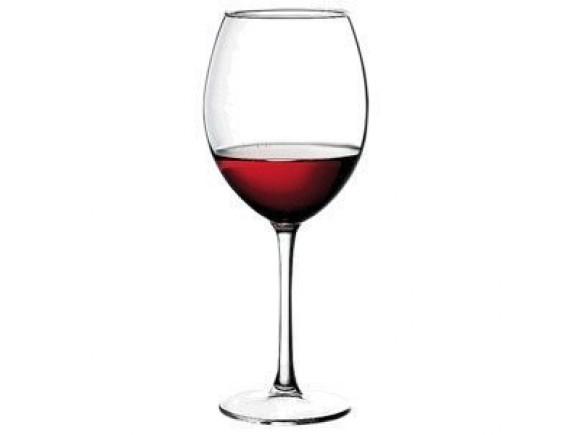 Бокал для вина «Энотека», стекло, 590мл, D=71/85, H=238мм, прозрачный, Pasabahce (44738)
