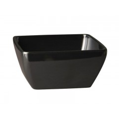 Салатник, 19х19х8 см черный меламин, Paderno. (44847B20)