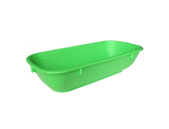 Емкость для теста, 12х27 см на 500 г зеленая, Paderno. (47043-27)