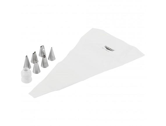 Набор насадок кондитерских, нерж.сталь, 8 предметов, Paderno. (47120-01)