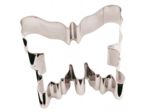 Вырубка Бабочка, 8х7х3 см нержавеющая сталь, Paderno. (47371-08)