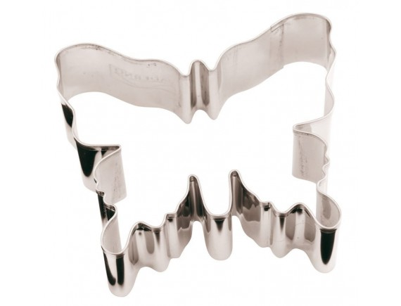 Вырубка Бабочка 8х7х3 см нерж.сталь, Paderno (47371-08)