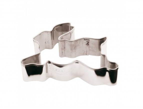 Вырубка Заяц, 8х5х3 см нержавеющая сталь. Paderno. (47402-08)