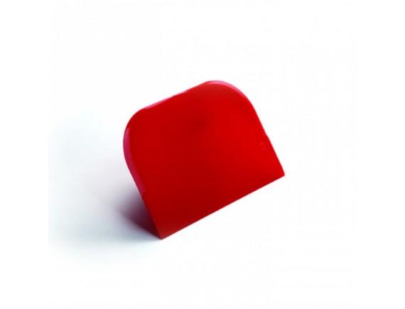 Скребок кондитерский пластиковый, 12х8, Paderno. (47621-04)