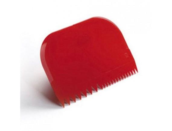 Скребок кондитерский пластиковый, 14,5х9,9 см, Paderno. (47621-06)