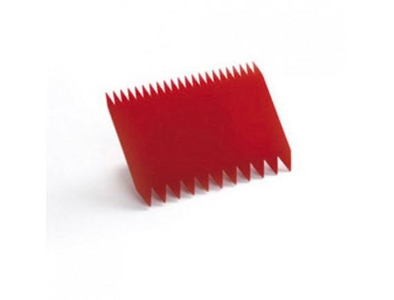 Скребок кондитерский пластиковый, 11х8 см , Paderno. (47621-07)