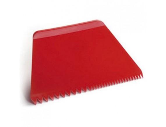 Скребок кондитерский пластиковый, 21,6х12,8 см, Paderno. (47621-08)