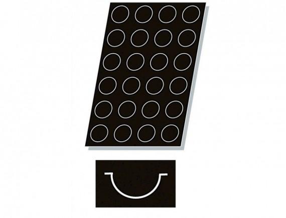 Кондитерская силиконовая форма для выпечки