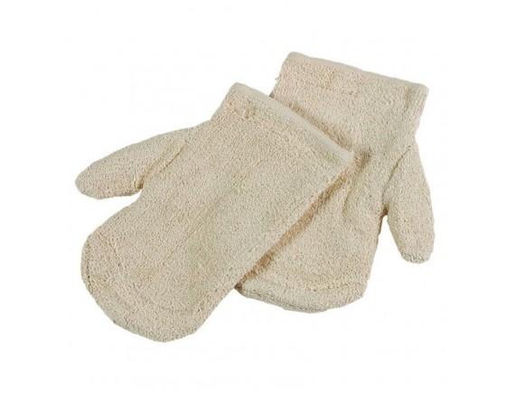 Жаропрочные перчатки пекарские, (пара) 27х15см +200С, Paderno. (48512-02)