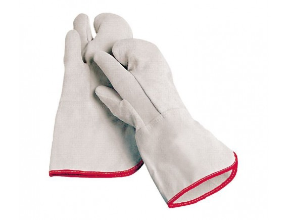 Жаропрочные перчатки пекарские, (пара) трехпалые, Paderno. (48517-03)