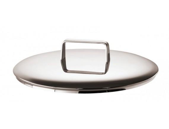 Крышка для кастрюли, D-24 см, нержавеющая сталь, Sambonet. (51861-24)