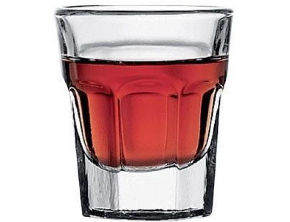Стопка «Касабланка», стекло, 30мл, D=48, H=55мм, прозрачный, Pasabahce. (52734)